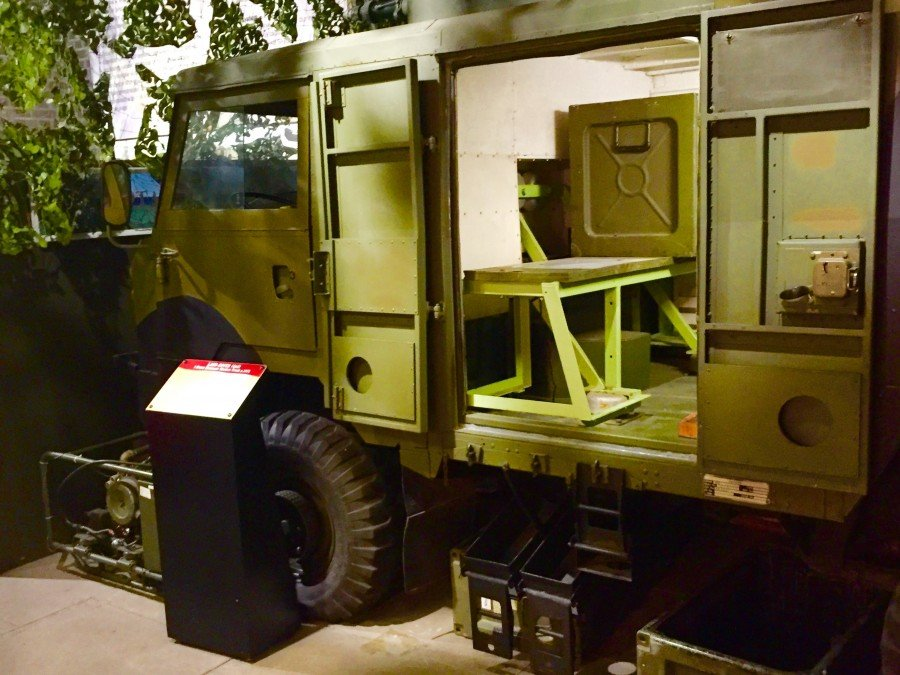 Land Rover 1 tonne Electronic warfare truck
