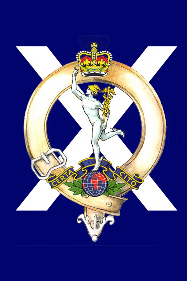The Royal Corps of Signals Cap Badge of 32nd Signal Regiment