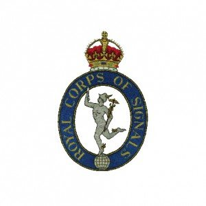 Royal Signals Cap Badge 1920 - 1946
