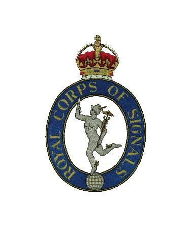 Royal Signals Cap Badge 1920 - 1946
