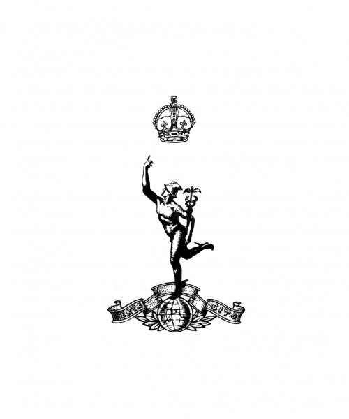 The Corps of The Royal Signals Cap Badge 1946 - 1953