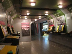 Interactive hands-on museum displays. Royal Corps of Signals Museum