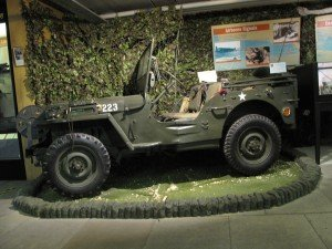 Willys Jeep Royal Signals Museum exhibitions