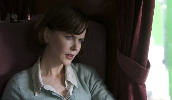 Nicole Kidman plays the part of Patti Lomax, the wife Lomax met on a train in 1980