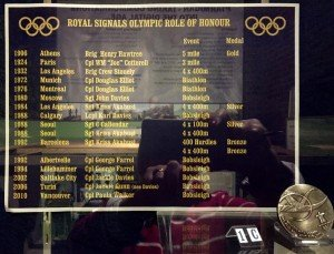 Royal Signals Olympic Roll of Honour