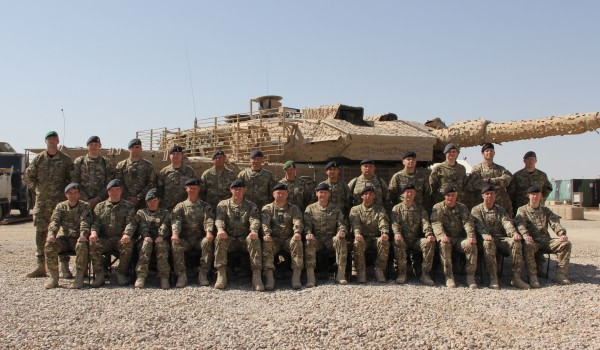 Royal Signals Regiments 2 Signal Regiment in AFghanistan with Commander JFCIS Col SG Hutchinson