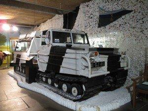 SnowCat tracked military vehicle