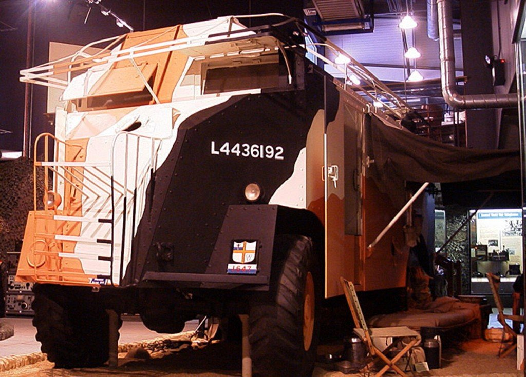 Royal Signals Museum corps history Monty's Armoured Command Vehicle