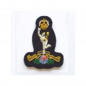 Royal Signals Corps blue cap badge