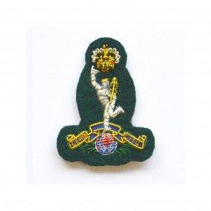 Royal Signals green cap badge