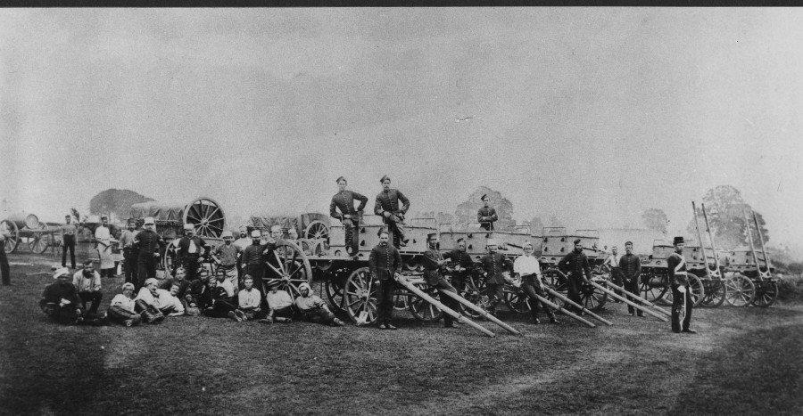 C TP BLANDFORD 1872 Royal Signals Corps History