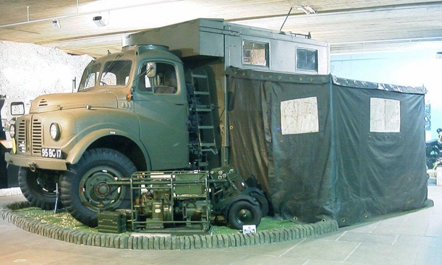 Prepare for action Austin K9 Loadstar Royal Signals Museum