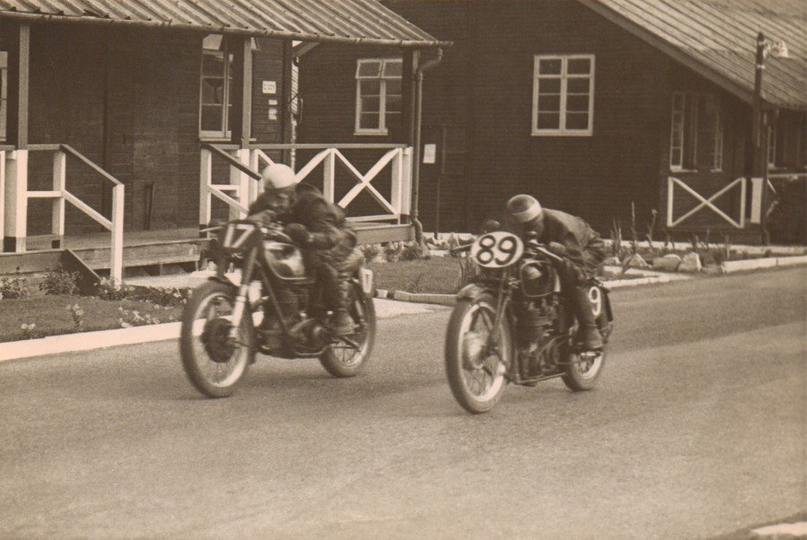 Blandford Motor Cycle team