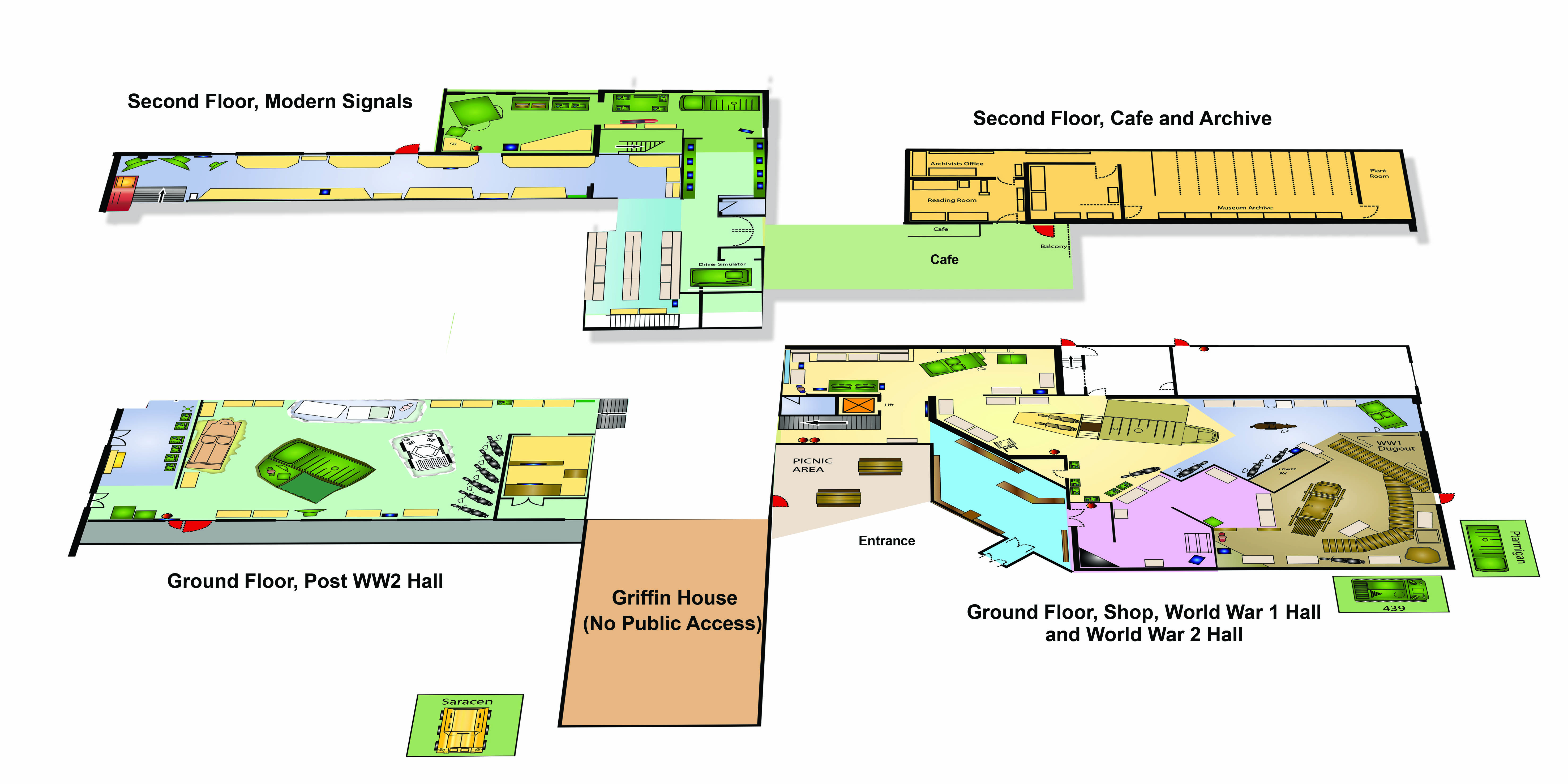 Pics for simple museum floor plan for Simple floors