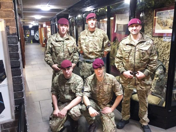 Royal Signals Paras 216