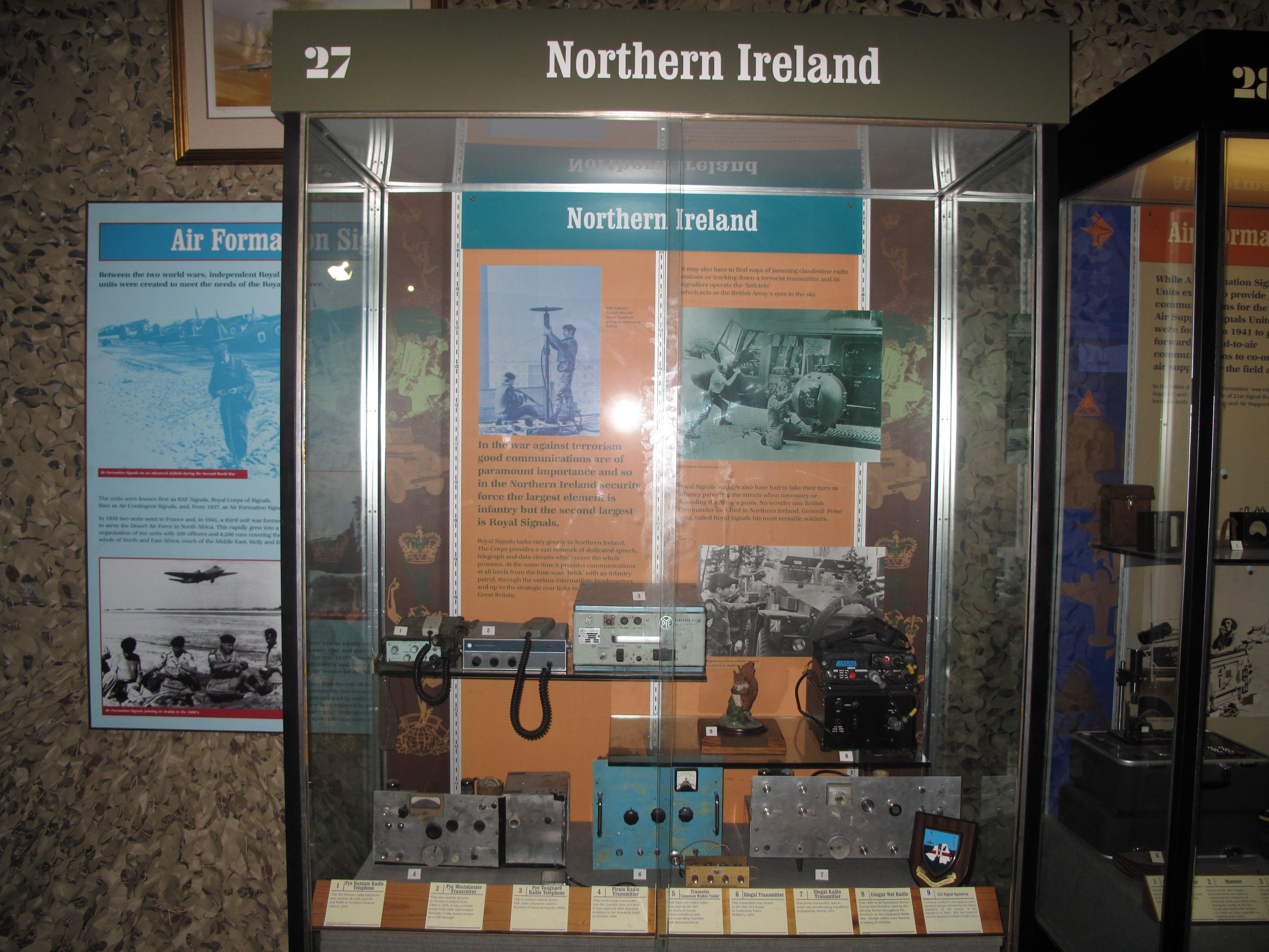 Museum Northern Ireland display