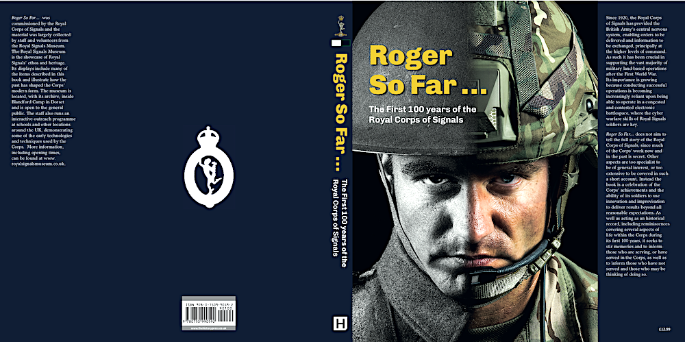 Roger so Far Corps centenary book