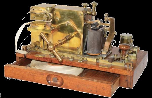Single needle telegraph