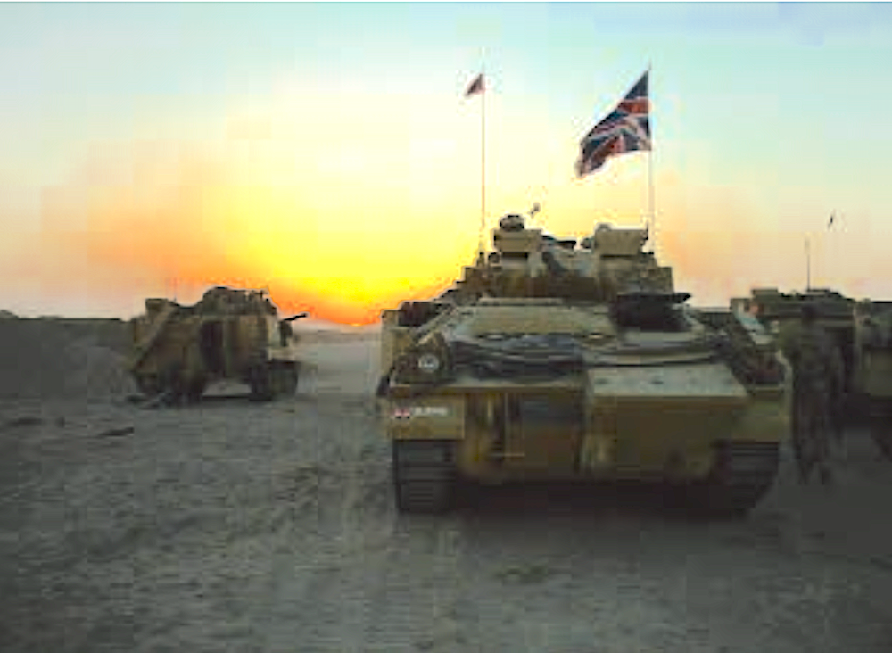 Op Telic - Moving through Iraq