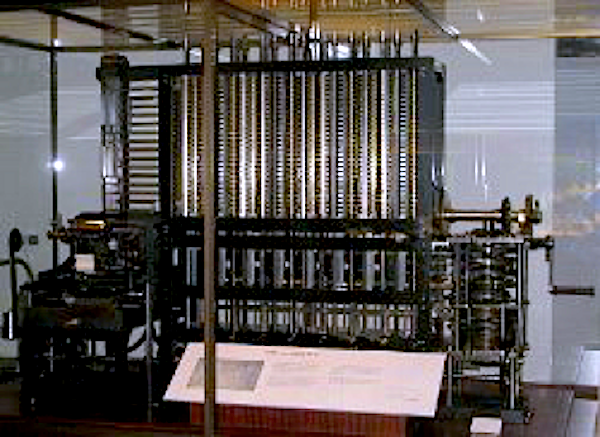 Babbage Working Difference Engine